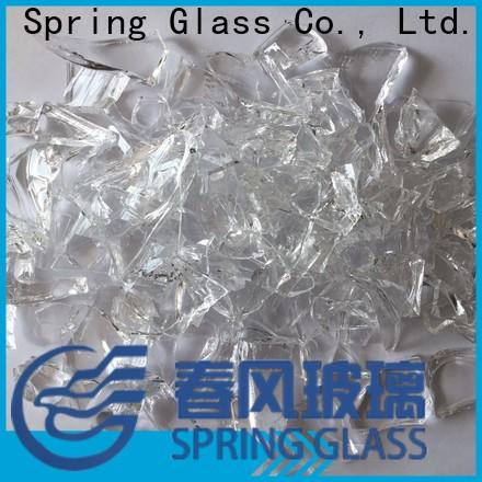 Spring Glass glass cullet fast delivery for fire pit