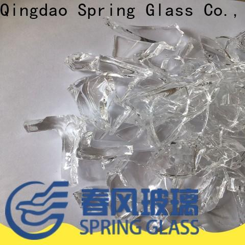 Spring Glass high quality glass cullet for busniess for fire bottle