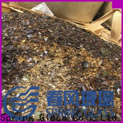 Spring Glass wholesale cullet supplier for water filtration
