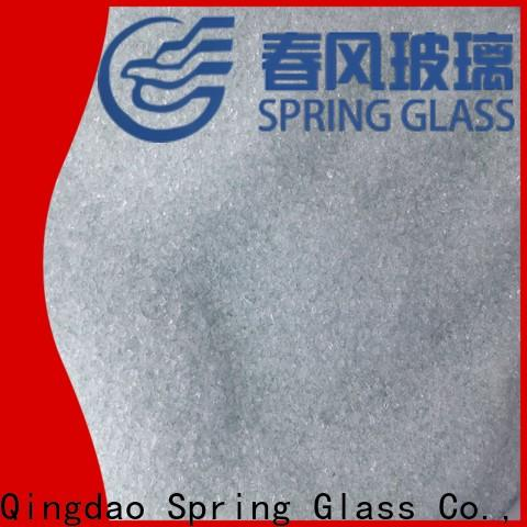 good selling decorative crushed glass company for floor