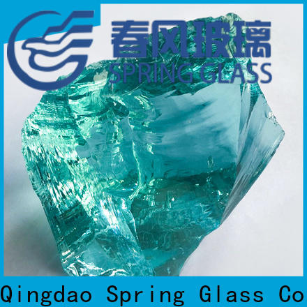 Spring Glass glass rocks supplier for decoration