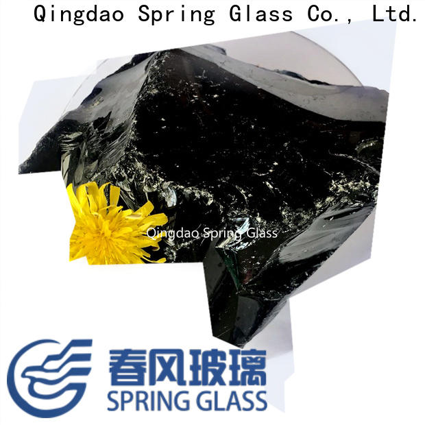 high quality landscaping glass rocks company for home