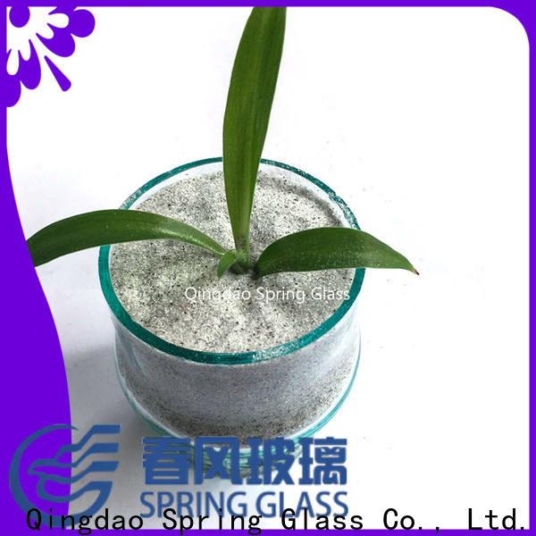 Spring Glass crushed mirror chips manufacturer for sale
