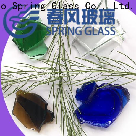 wholesale glass cullet manufacturer for fire bottle