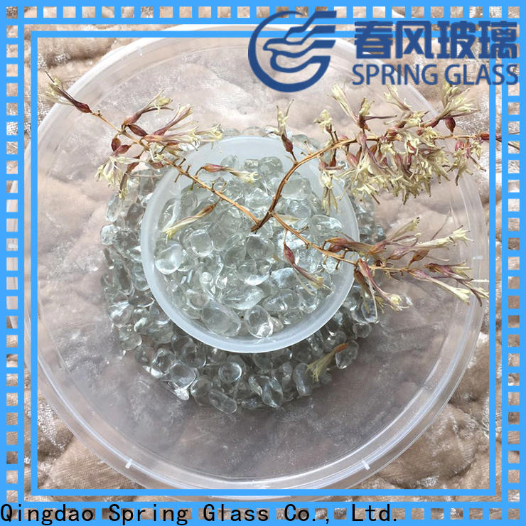 Spring Glass best glass pebble company for square