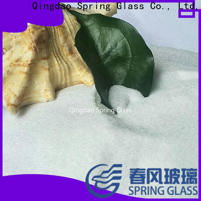 recycled crushed glass factory for floor