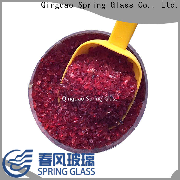 normal decorative crushed glass factory for sale