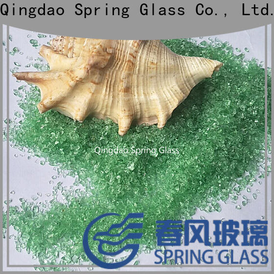 Spring Glass dark crushed glass factory for kitchen