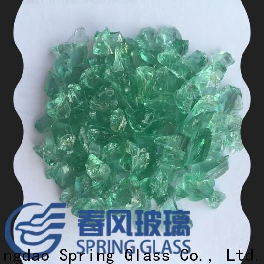 Spring Glass new decorative crushed glass manufacturer for decoration
