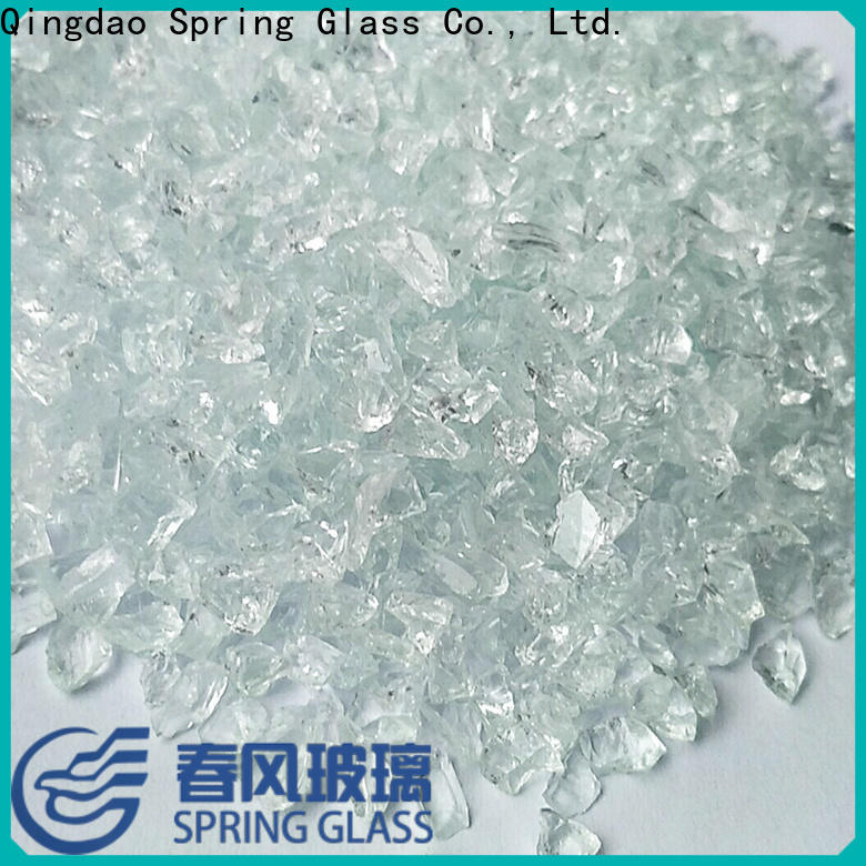new crushed glass factory for floor