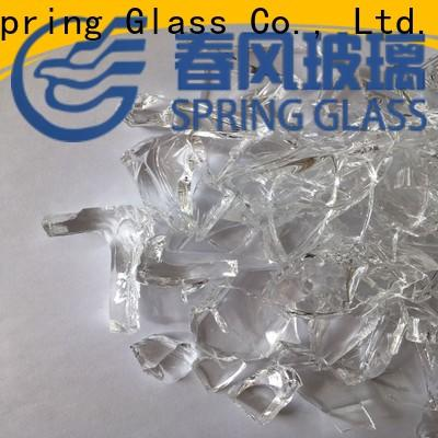 sheet glass cullet factory for fire pit