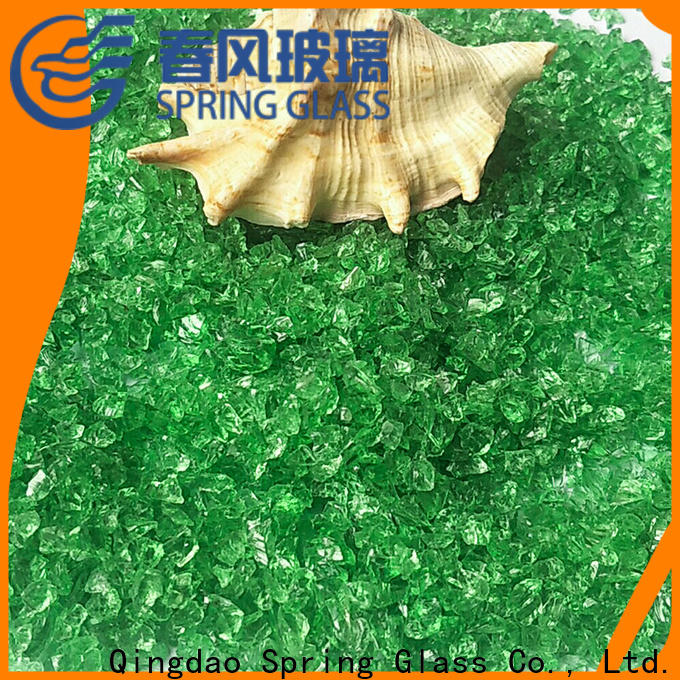 Spring Glass wholesale crushed glass factory for floor