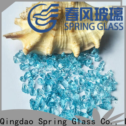 Spring Glass european crushed glass for busniess for decoration