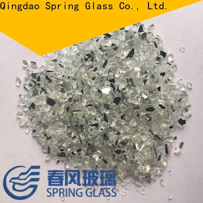 delicate crushed glass chips manufacturer for engineered stone