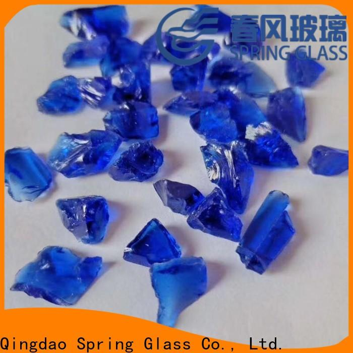 Spring Glass best landscaping glass rocks for busniess for decoration