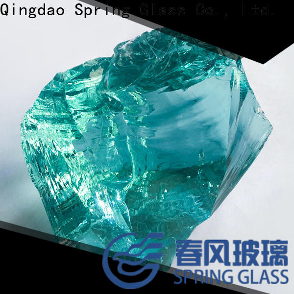 latest landscaping glass rocks manufacturer for decoration