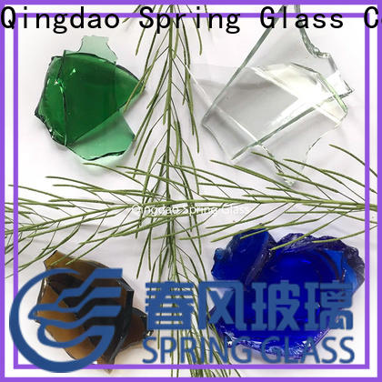 Spring Glass hot sale glass cullet company for fire pit
