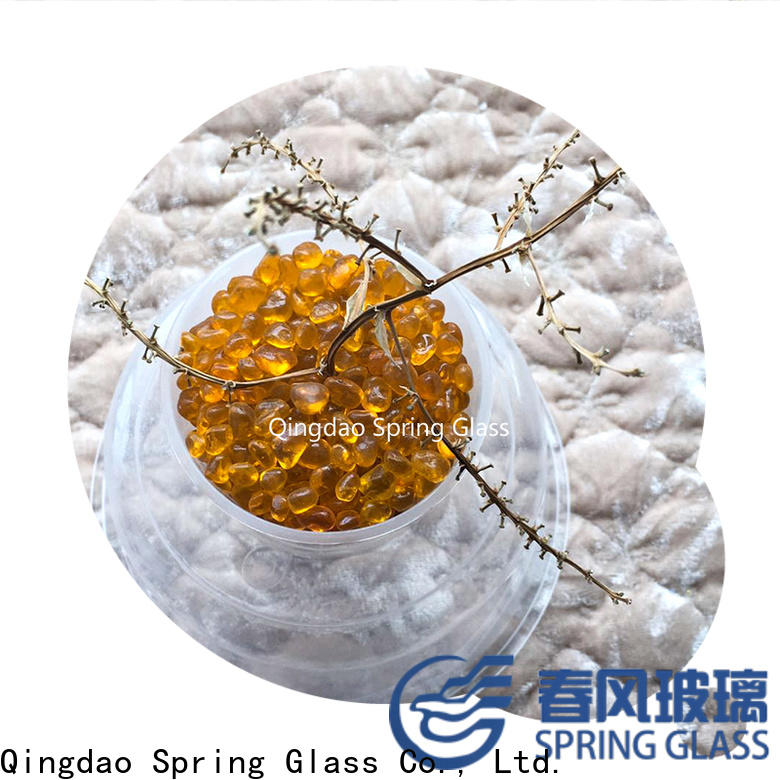 Spring Glass glass bead supplier for home