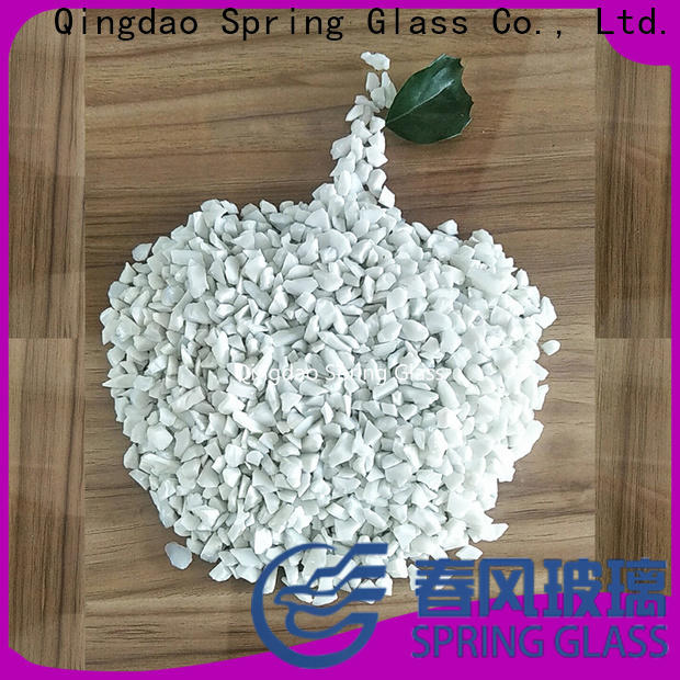 porcelain recycled crushed glass supplier for decoration