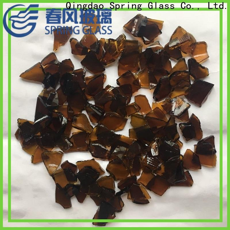 Spring Glass cullet manufacturer for fire place