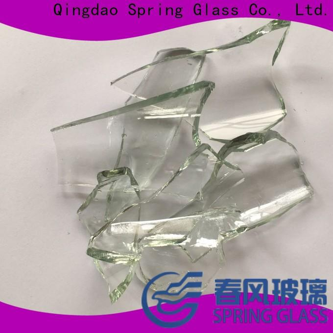 Spring Glass wholesale glass cullet supplier for fire bottle