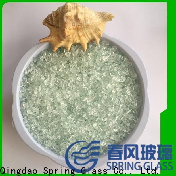 Spring Glass recycled crushed glass supplier for kitchen