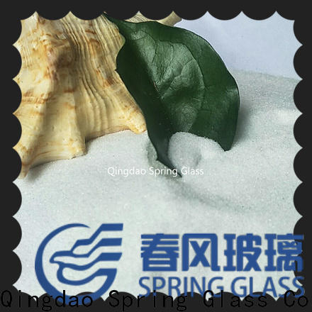 Spring Glass decorative crushed glass for busniess for sale