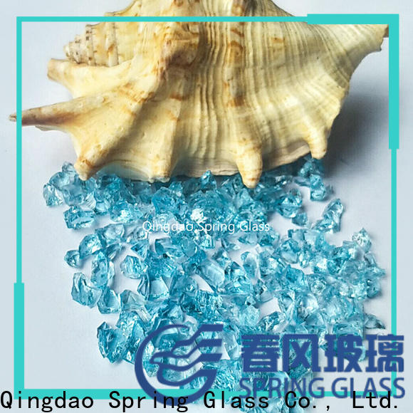 custom decorative crushed glass factory for kitchen