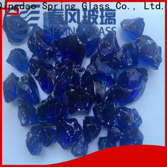 colorful glass rocks for busniess for decoration