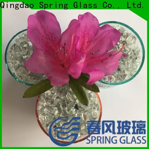 Spring Glass crushed mirror chips fast delivery for decoration