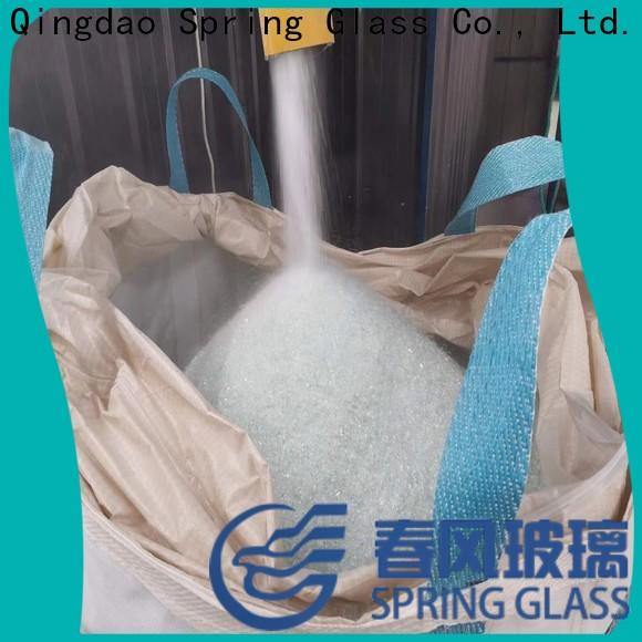 grey crushed mirror chips supplier