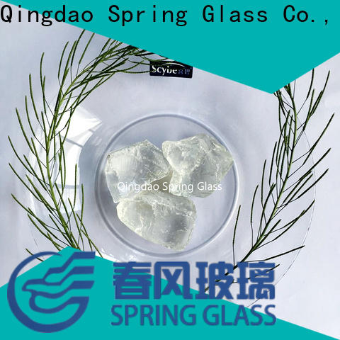 Spring Glass new landscaping glass rocks manufacturer for decoration