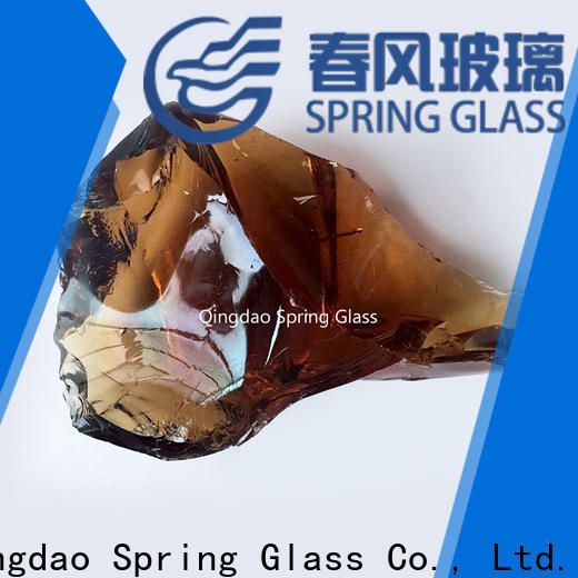 Spring Glass glass rocks for busniess for square