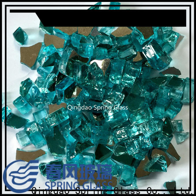 Spring Glass glass rocks company for decoration