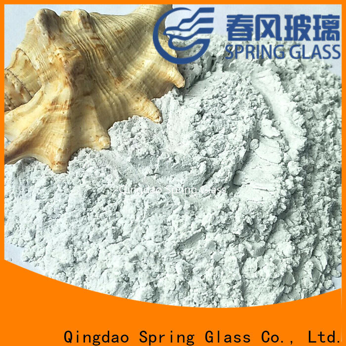 high quality glass powder supplier for wall