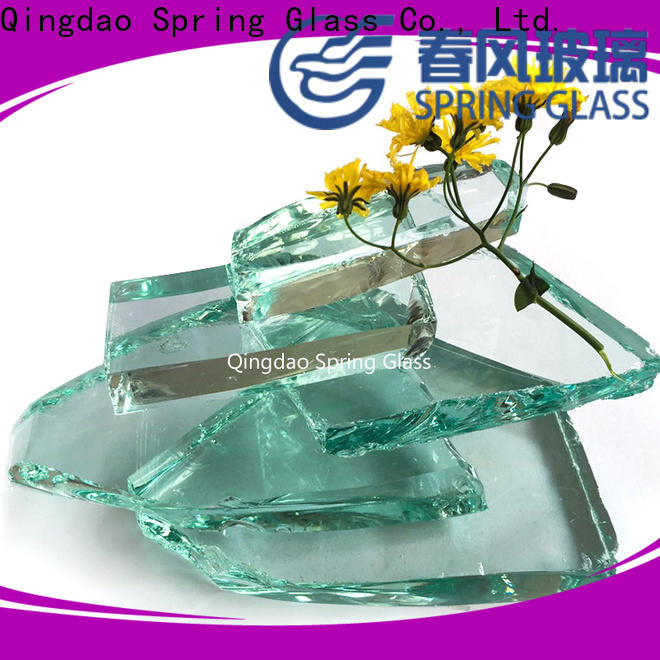 Spring Glass bottle glass cullet supplier for fire place