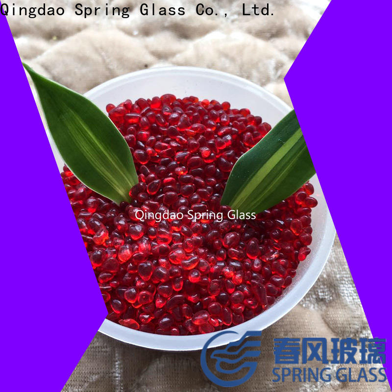 crystal glass gravel company for home