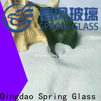 Spring Glass decorative crushed glass supplier for sale