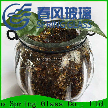 Spring Glass decorative crushed glass for busniess for decoration