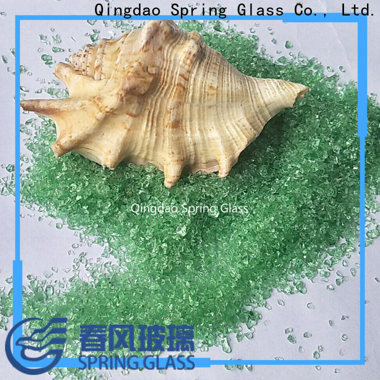 Spring Glass crushed glass company for sale