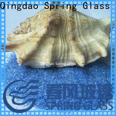 Spring Glass recycled crushed glass supplier for decoration