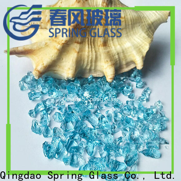 Spring Glass crushed glass factory for floor