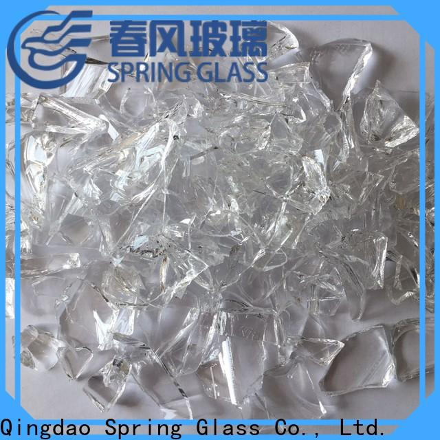Spring Glass glass cullet supplier for fire place
