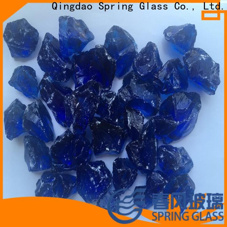 wholesale fire glass rocks manufacturer for home