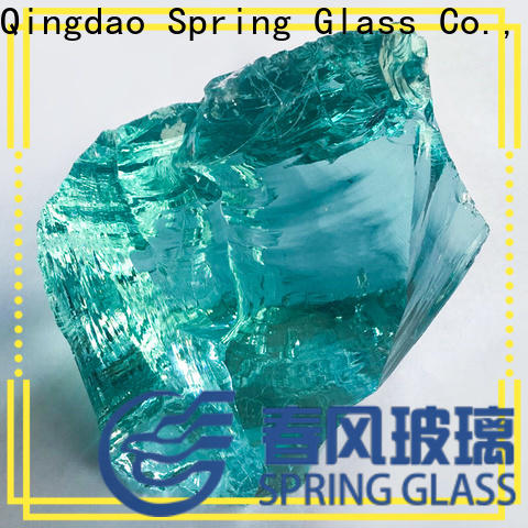 Spring Glass glass rocks manufacturer for home