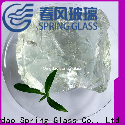 Spring Glass landscaping glass rocks company for decoration