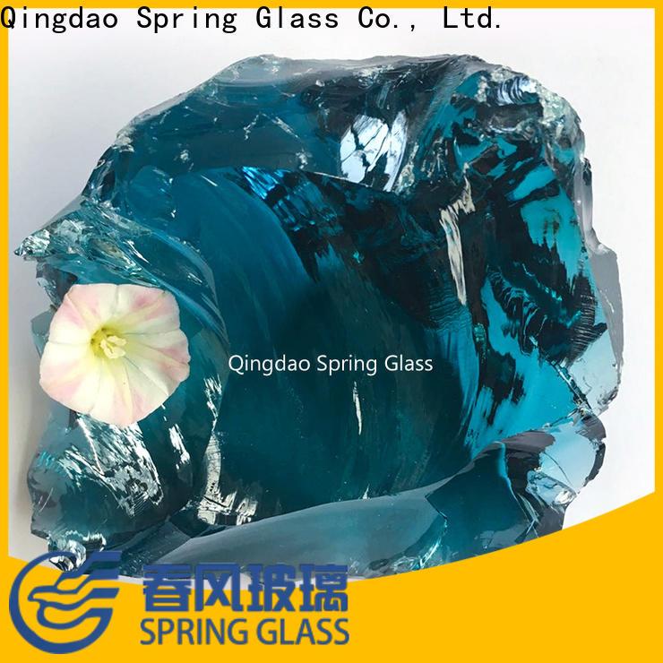 top landscaping glass rocks manufacturer for decoration
