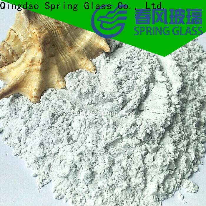 Spring Glass latest crushed glass powder for busniess for wall