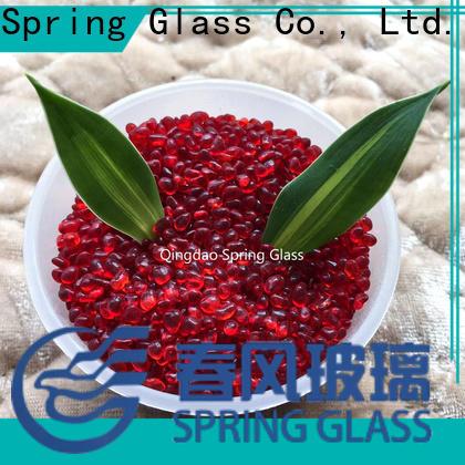 Spring Glass red glass gravel gravel for home