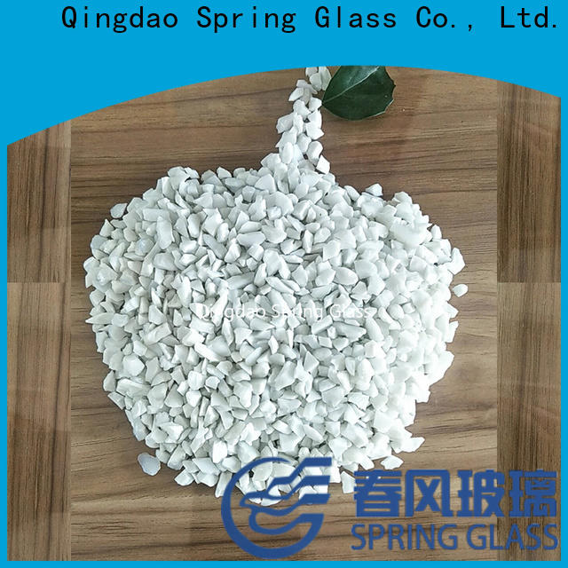 Spring Glass crushed glass for busniess for decoration